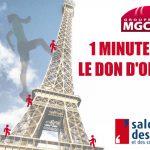 Le Groupe MGC invite les maires à marcher « 1 minute pour le don d'organes » au Salon des maires et des collectivités locales
